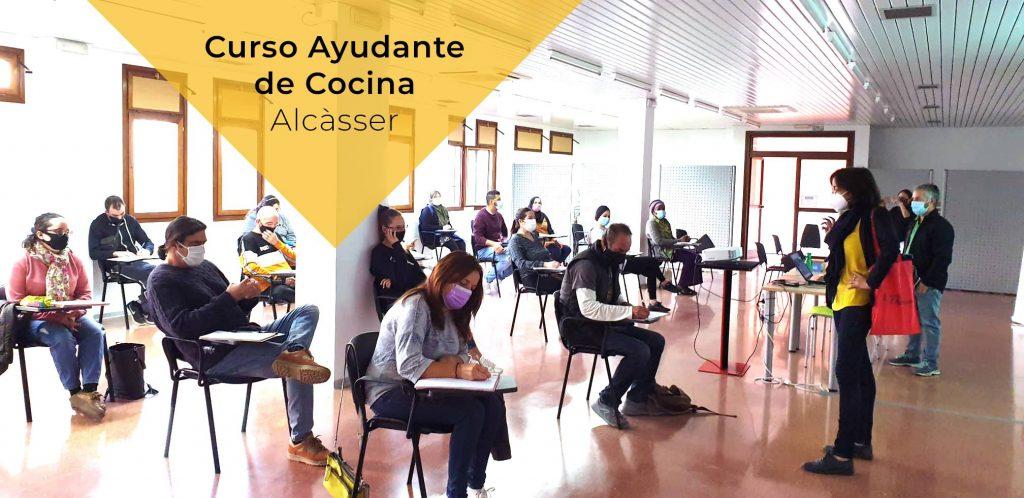 Curso de ayudante de cocina alcasser valencia emplealcasser formacion para el empleo ocupacional ayuntamientos RH en positiu 2
